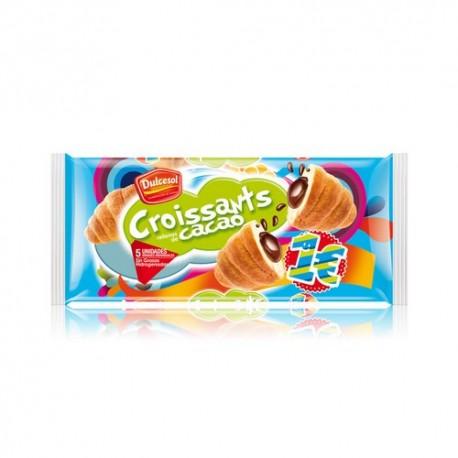 Croissants rellenos de Cacao 5 unidades