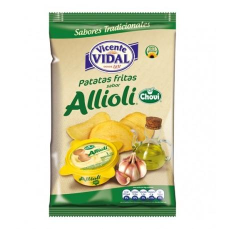 Patatas Allioli 135grs