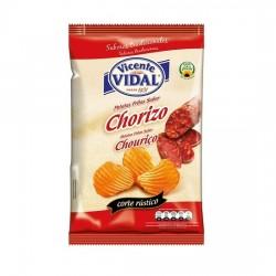 Patatas Onduladas Chorizo 135grs