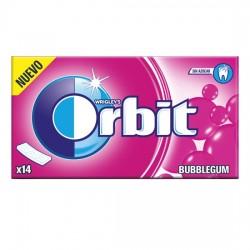 Orbit Tab Bubblegum Chicle Sin Azúcar estuche 12 unidades