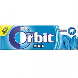 Orbit Chicle Sin Azúcar sabor Menta estuche 30 unidades