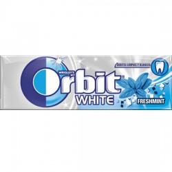 Orbit Chicle Sin Azúcar sabor White Menta Suave estuche 30 unidades