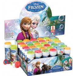 Pompas de Jabón FROZEN bote 60ml BUBBLE WORLD - DULCOP