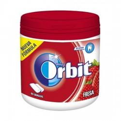 Orbit Chicle Sin Azúcar sabor Fresa caja 6 Botes