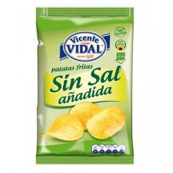 Patatas Fritas Bajas en Sal 140grs VICENTE VIDAL