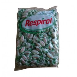 Caramelos RESPIRAL Eucalipto Mentol bolsa 1kilo
