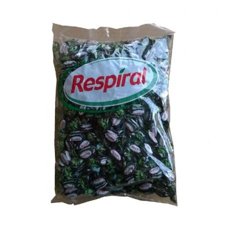 Caramelos RESPIRAL Regaliz Mentol Bolsa 1kilo