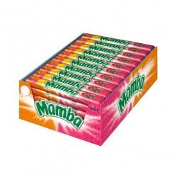 Caramelo Masticable MAMBA Multipack 106grs caja 24 unidades
