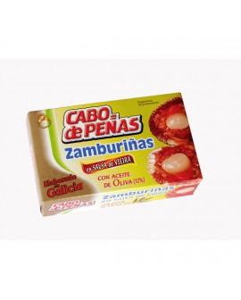 Zamburiñas en Salsa de Vieira Lata 120grs
