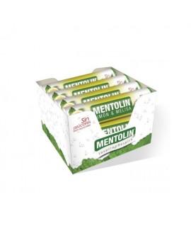 Mentolín Limon y Melisa Tubo Sin Azúcar Caja 12 unidades
