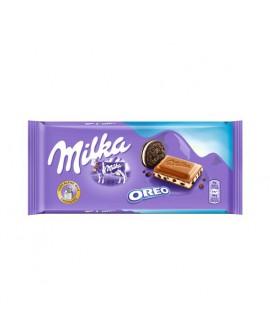 Tableta Chocolate Milka Oreo 100grs