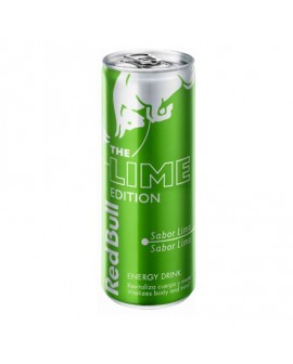 Bebida energética RED BULL LIMA lata 250cl