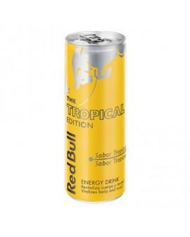Bebida energética RED BULL TROPICAL lata 250cl