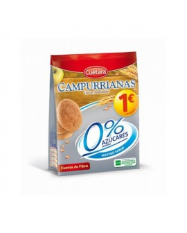 Galletas Mini Campurrianas 0% 150grs PVP 1€ Cuétara