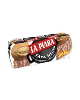 La Piara paté Tapa Negra pack 3