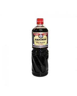 Salsa Soja Kikkoman botella 1 litro