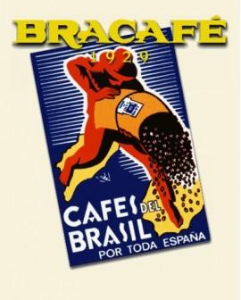 Café Descafeinado Monodosis sobres 7grs est. 50 unids BRACAFE