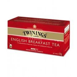 Twinings English Breakfast Caja 25 sobres