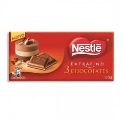 Nestlé Extrafino Tres Chocolates 120grs