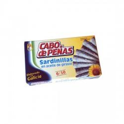 Sardinillas en Aceite de Girasol Lata 85grs
