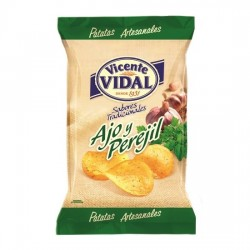 Patatas Fritas Ajo y Perejil 135grs