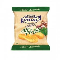 Patatas Fritas sabor Ajo y Perejil 30grs VICENTE VIDAL