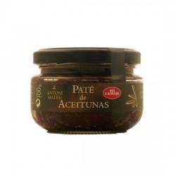 Paté Aceitunas Negras Bote 100grs