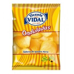 Patatas Onduladas 30grs VICENTE VIDAL