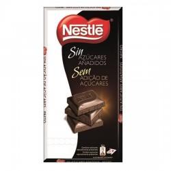 Tableta Nestlé Negro Sin Azúcar 125grs
