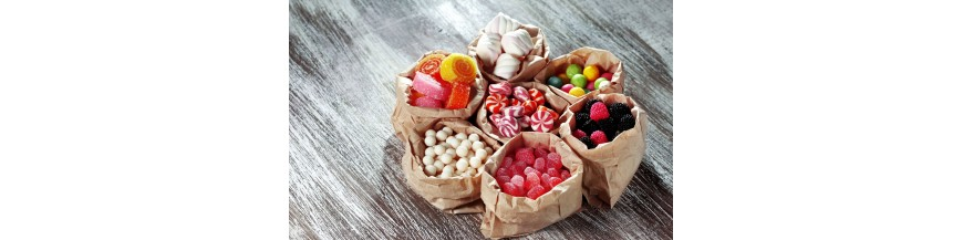 sweets in small bags