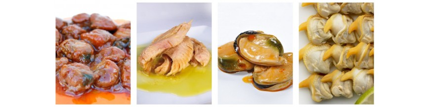 canned seafood