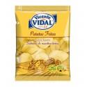 Patatas fritas lisas Artesanas 30grs VICENTE VIDAL CAJA CON 16 BOLSITAS