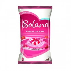 Solano Caramelo Sin Azúcar sabor Fresa bolsa 300 unidades