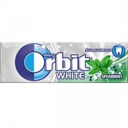 Orbit Chicle Sin Azúcar sabor White Hierbabuena estuche 30 unidades
