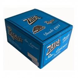 Regaliz Zara sabor Natural Sin Azúcar estuche 100 unidades FIRE