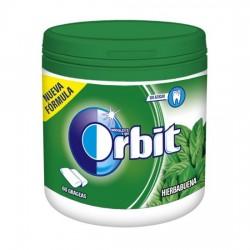 Orbit Chicle Sin Azúcar sabor Hierbabuena caja 6 Botes
