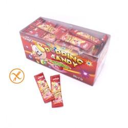 Caramelo con chasquido Popping Candy sabor Fresa estuche 200 unids GERIO