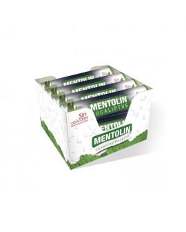 Mentolín Eucalipto Sin Azúcar Tubo Caja 12 unidades
