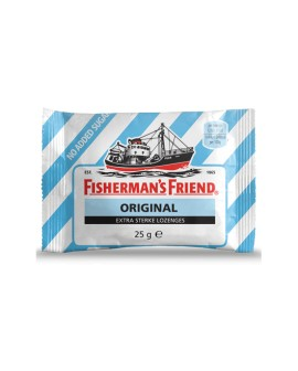 Fisherman's Friend sin Azúcar sabor Original caja 12 unidades