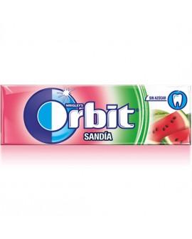 Orbit Chicle Sin Azúcar sabor Sandía