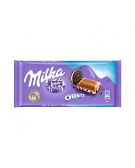 Tableta Chocolate Milka Oreo 100grs