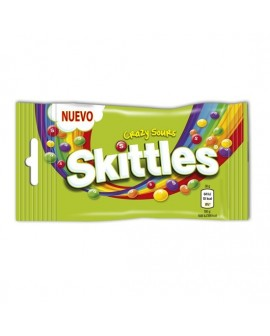 Skittles Caramelo Masticable sabor Crazy Sour Pica-Pica 55grs