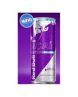 Bebida energética RED BULL Sin Azúcar AÇAI lata 250cl