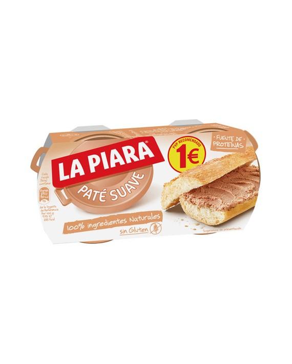 La Piara paté suave pack 2 PVP 1€