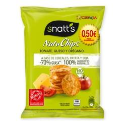 Snatt's NatuChips Tomate, Queso y Orégano 30grs