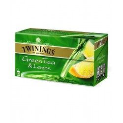 Twinings Java Green Tea & Lemon Caja 25 sobres