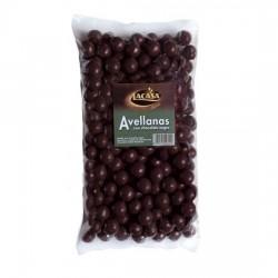 Avellanas Chocolate Negro 1 kilo